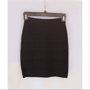 Bebe Black Bandage Skirt - XS New with Tag
